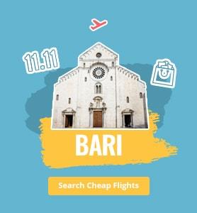 flights to Bari