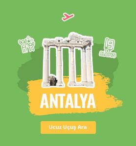 Antalya uçak bileti