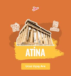 Atina uçak bileti